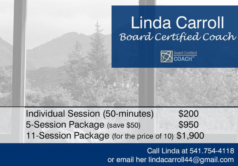Linda Carroll: Coaching Rates